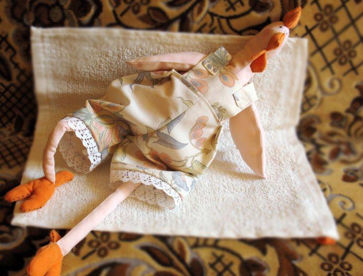 Оранжевый петух