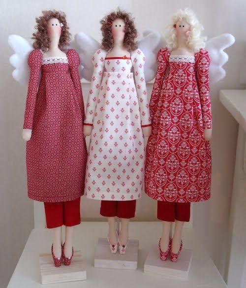 тильда винтажный ангел