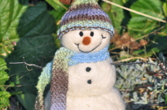 снеговик валяние