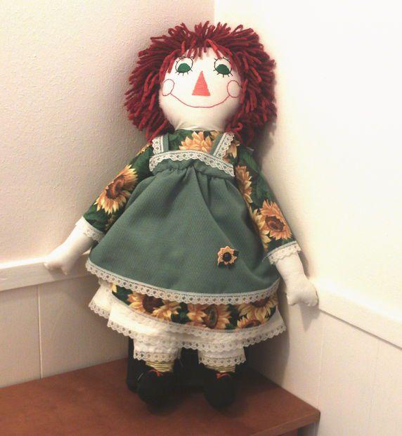 чердачная кукла своими руками