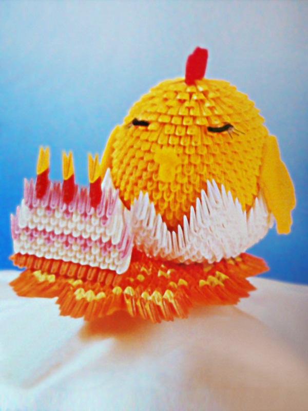 Модульное оригами – это целое