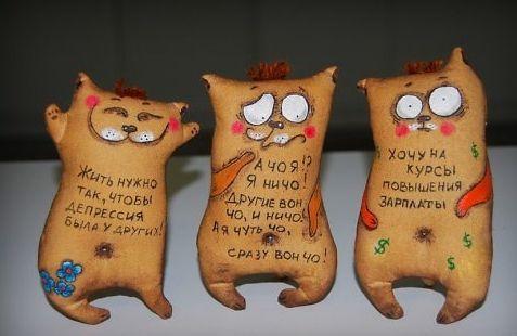 Прикольные игрушки котам своими руками