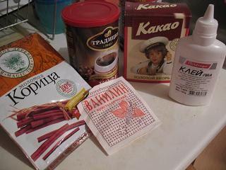 подготовка раствора кофе