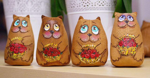 Кофейные котики своими руками фото 945