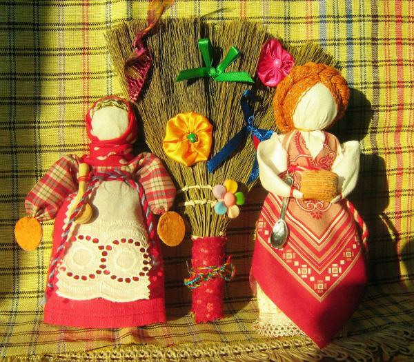Как сделать куклу масленицу