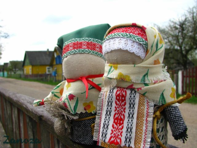 Куклы-обереги своими руками из ткани мастер класс