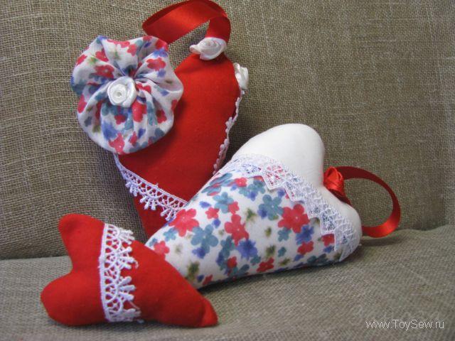 Сердце из игрушек своими руками