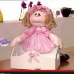 Забавная куколка из ткани