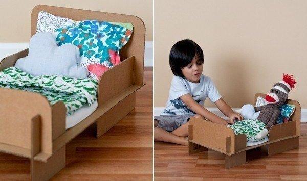 Как сделать кровать в домашних условиях своими руками для куклы