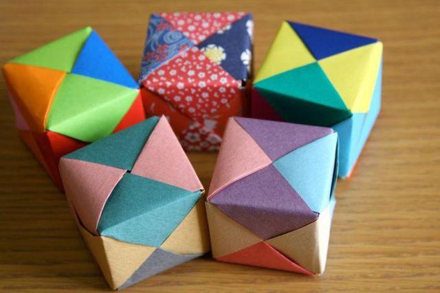 Кубик-рубик своими руками из бумаги