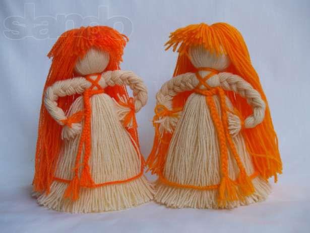 Кукла из ниток своими руками пошаговое фото