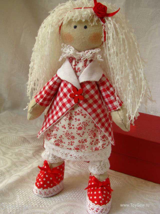 кукла снежка-40