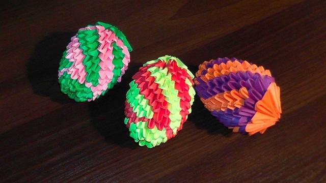 оригами пасха