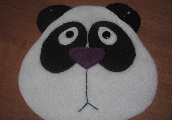 подушка панда