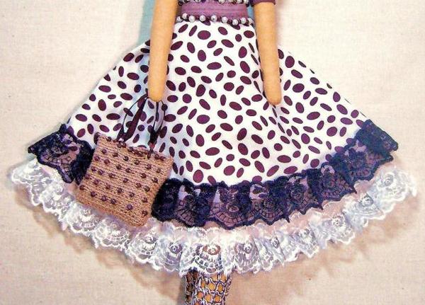 шьем юбку для куклы-2