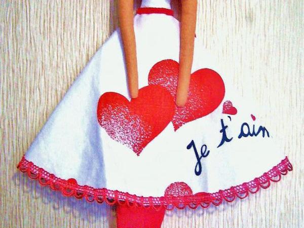 шьем юбку для куклы