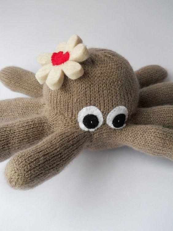 осьминог из перчаток