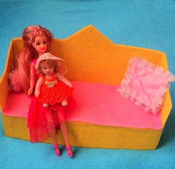 Мебель для кукол от мастера