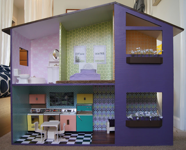 Фото кукольный дом своими руками