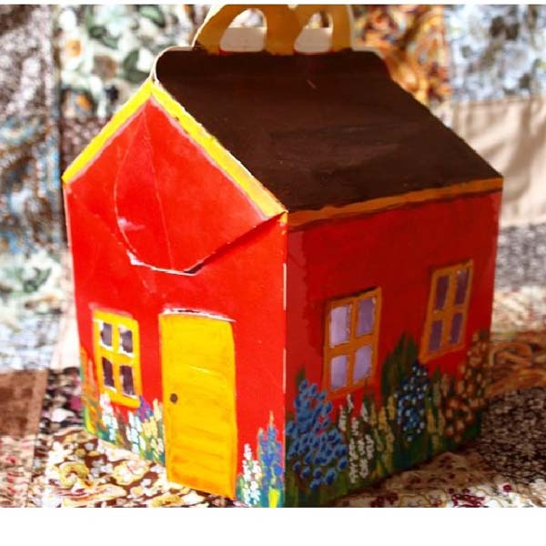 домик из коробки макдональдс