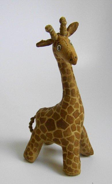 кофейный жираф