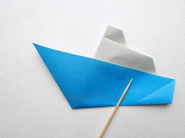 Как делать кораблик из цветной бумаги