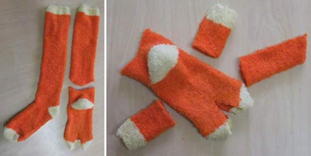 Как сделать кошку из носка своими руками