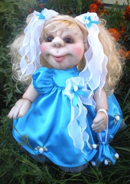 кукла из капрона-14