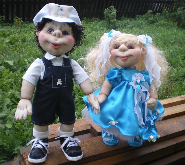 кукла из капрона-15
