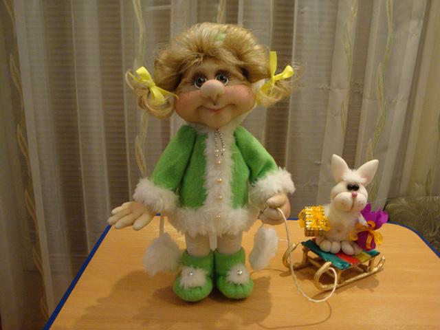 kukla-iz-kaprona-17 Куклы из колготок своими руками с пошаговой инструкцией