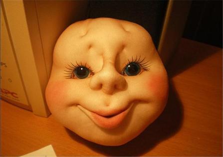 кукла из капрона-9