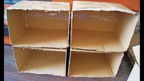 Домик из коробки от обуви свои руками 719
