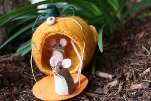 готовые мышки-игрушки