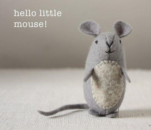 милая мышка готова