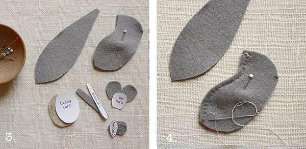 процесс пошива мыши