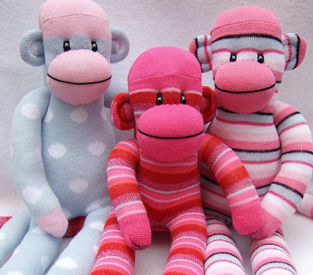обезьяна из носка