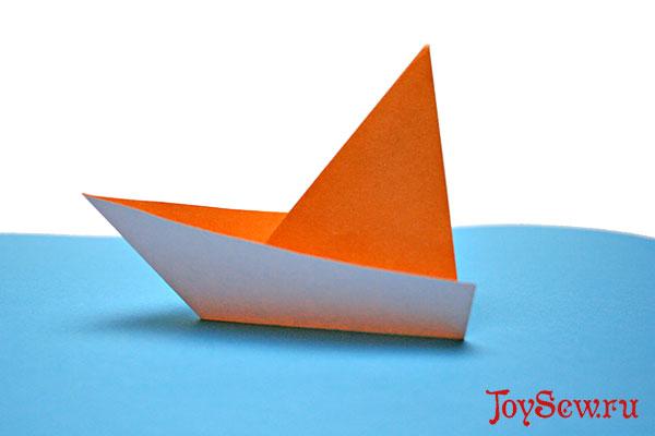 самый простой кораблик
