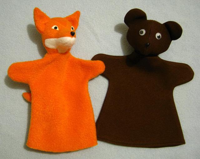 Перчатка игрушка своими руками