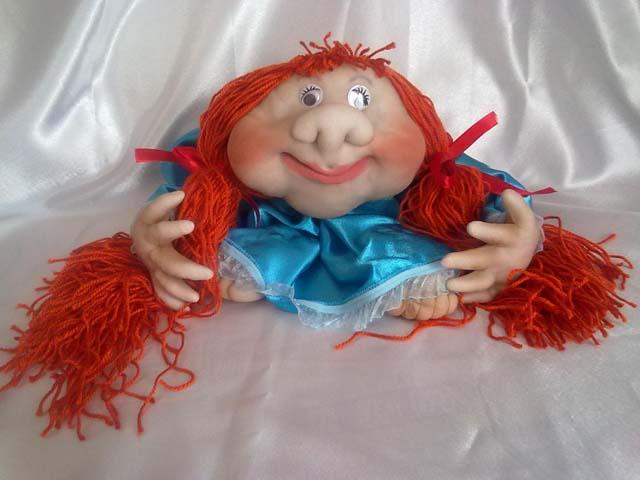 Куклы из капрона мастер класс пошаговое фото