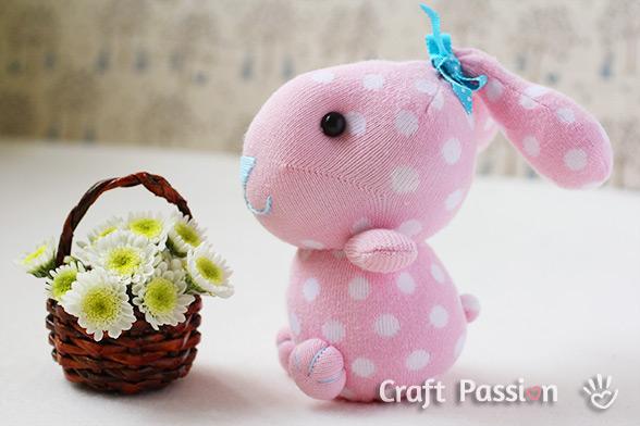 Фото кролика игрушка своими руками
