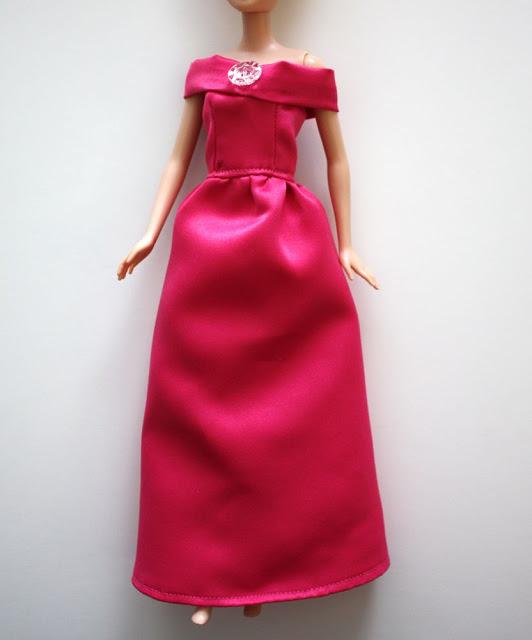 сшить платье для барби