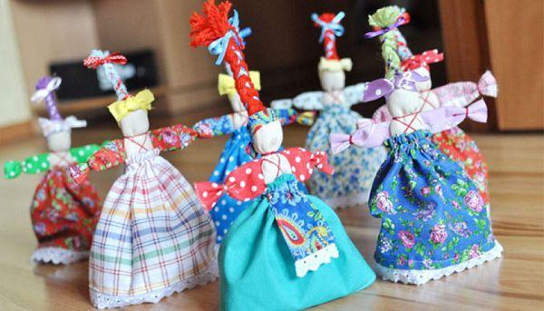 куколки обереги веснянки