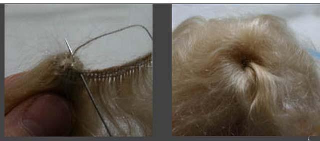 волосы для куклы-2