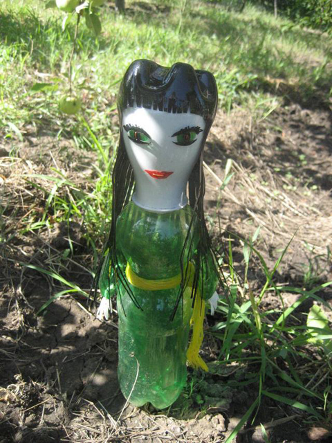 Фото поделок из пэт-бутылок