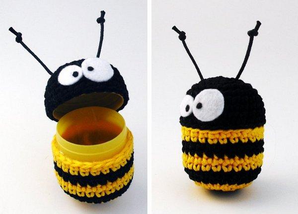простая пчелка крючком
