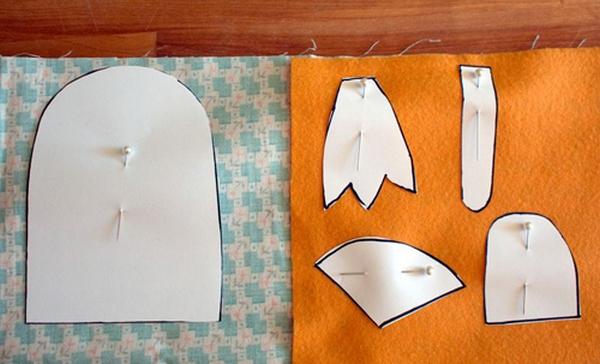 Игрушки из ткани шаблоны фото