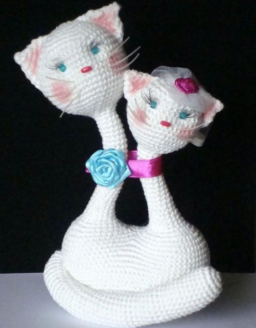 свадебные коты-неразлучники