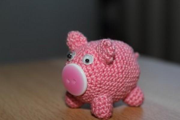 Свинка амигуруми-8