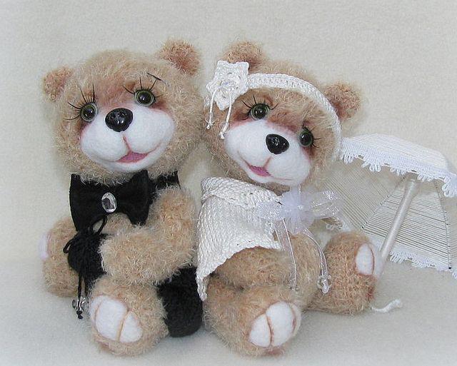 тедди на свадьбу