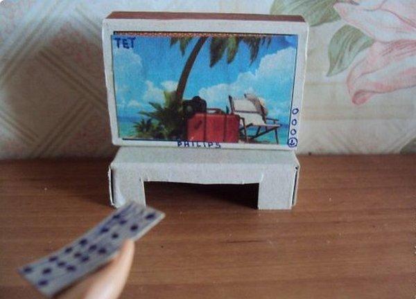 Видео как сделать телевизор для кукол фото 955